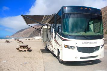 RV Rental in Natural Malibu Beauty