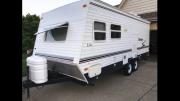 Davis family travel trailer rental