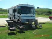 RV for rent at Vail Lake Campground