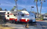 Retro Travel Trailer brand new
