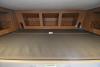 Fold down overhead bunk