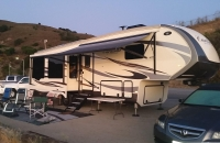 Luxury RV Vacation Rental Delivered