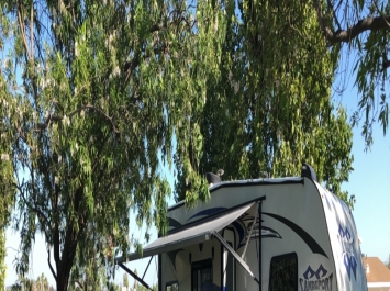 2019Solar Toy Hauler Travel Trailer