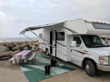 Perfect sized Family RV rental on the  Central Coast