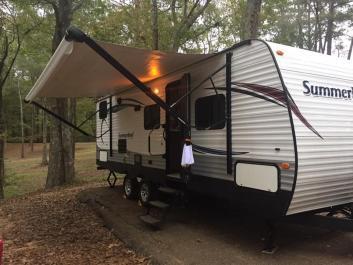 Camper RV Delivered to Flint Creek