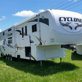 2008 Heartland Cyclone Toy Hauler