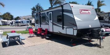 RV rental Coleman Bunkhouse 28