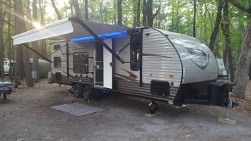 RV Rental for Sebago Lake Maine