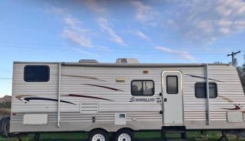 Josh & Tiffany's  2011 Family Camper 'Ricky' - Delivery Available