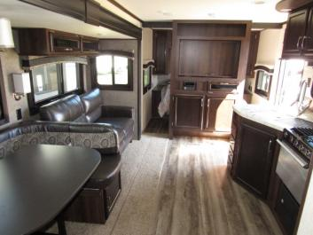 2019 Jayco with 3 slides & huge quad bunkhouse. Excellent condition!