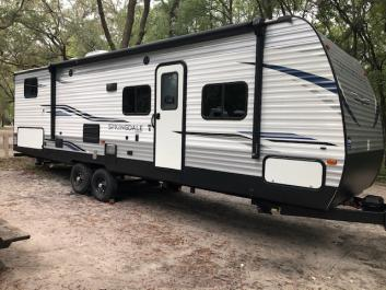 Trailer Rental great for Ginnie Springs, Blue Springs, Hart Springs