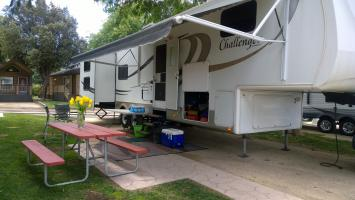 RV Rental, set-up Solvang/Buellton