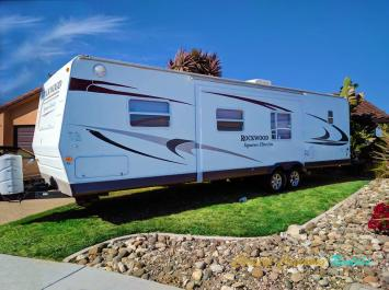 34' FOREST RIVER FAMILY RENTAL FOR 9