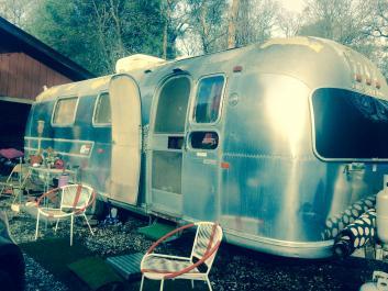 Burning Man rental RV Airstream!