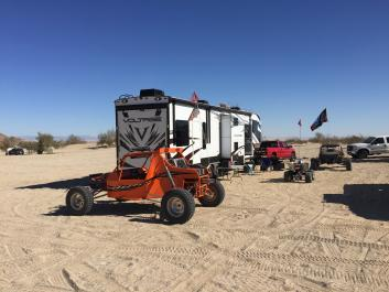 RV CA desert, beach, Panguitch Lake