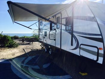 RV Rental at Doheny State Beach