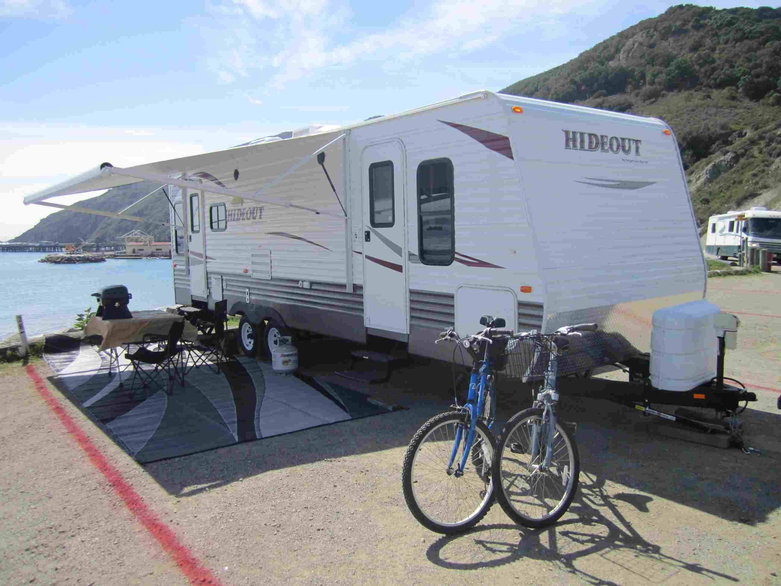 RV Rental by Owner, Delivered and Set up at Avila Beach, California