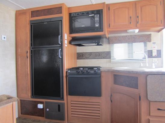 Coffee maker, filters, dishware, etc. all included