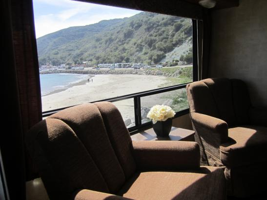 No ocean in Paso Robles but we can place the RV anywhere. Find your own perfect view
