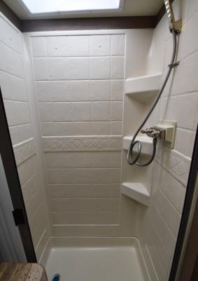 Main Bathroom 1 shower