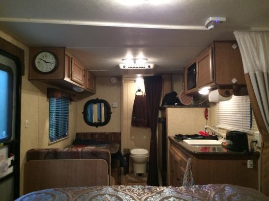 Kitchen and Full bath