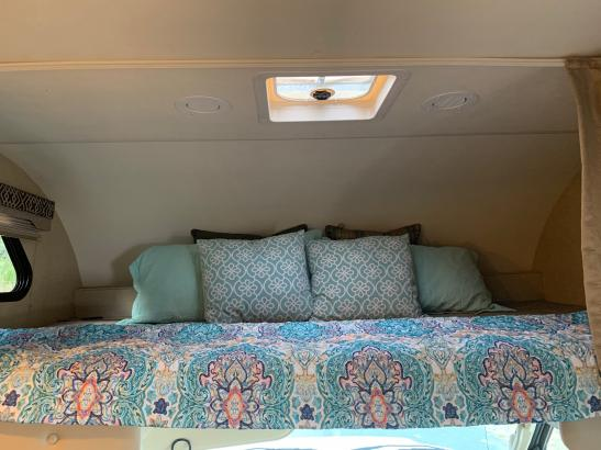Overhead bed