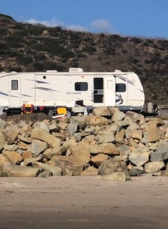 Rincon camping!