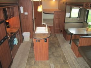RV Rental trailer