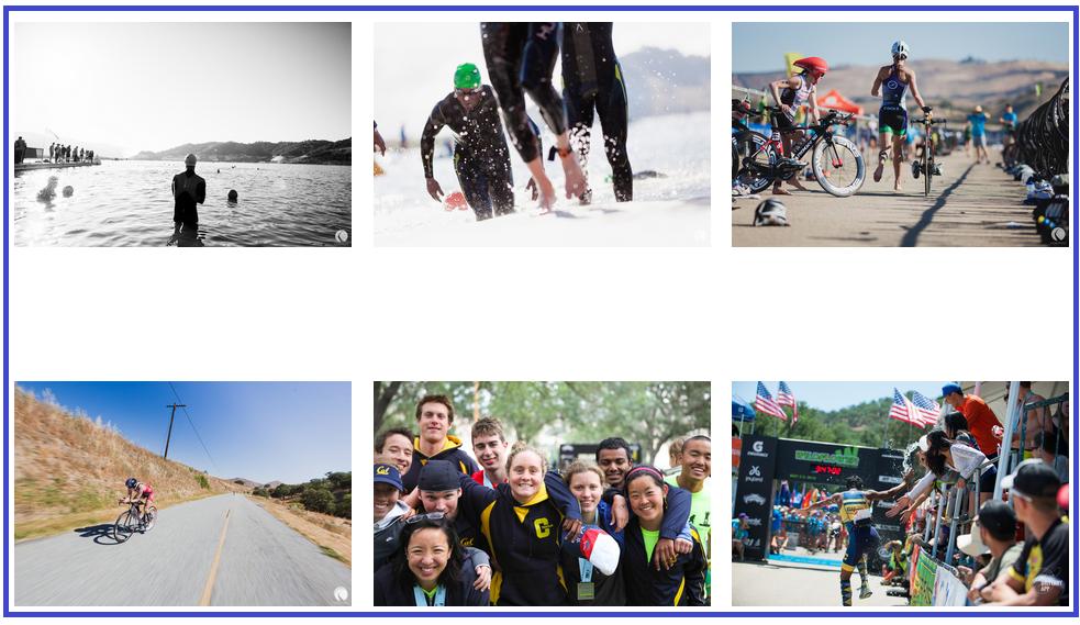 Images from Wildflower Triathlon website