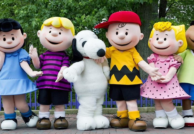 Peanuts Characters at Knotts PEANUTS Celebration, Jan 27 - Feb 25, 2018