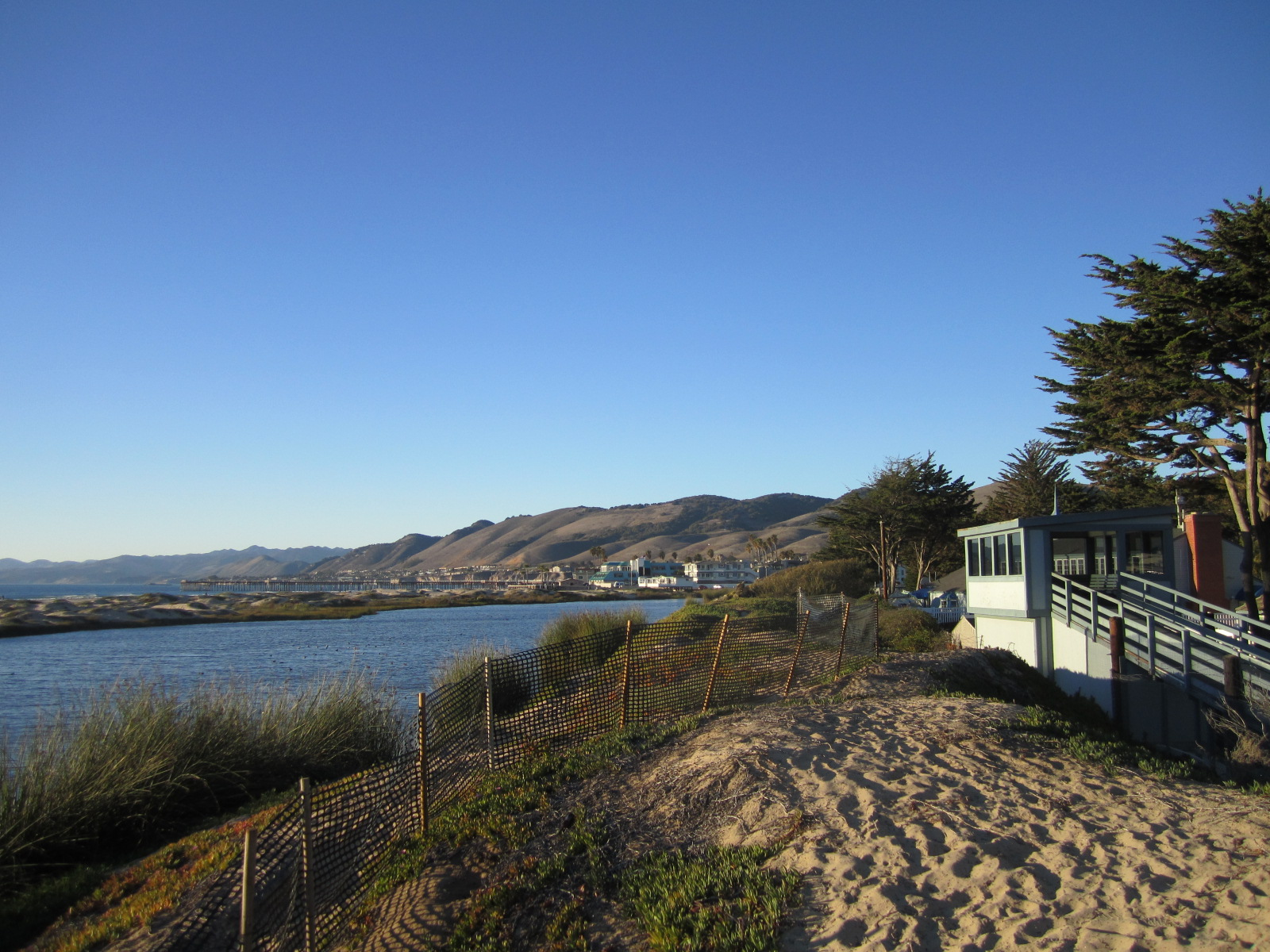 Lagoon at Pismo Coast Village