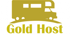 Gold Host RV Rental Medallion