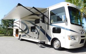 Class A Motor Home Rental for family RV trip