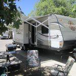 RV Rental set up at Ocean Mesa