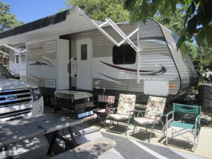 RV rental booked for an affordable vacation