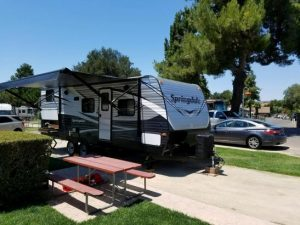 delivered RV rental for family reunions