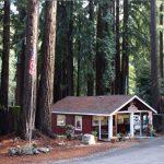 Check in office at Santa Cruz Redwoods RV Park