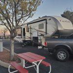 Campsite at CT RV Park