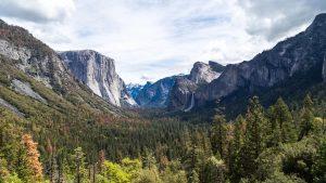 Mountains at Yosemite National Park
