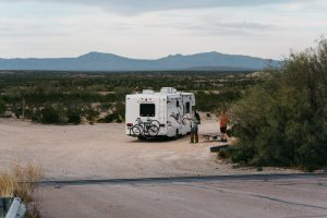 RV camping in Texas