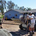 Bobcat building RV Pad
