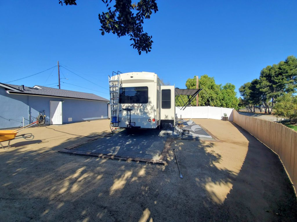 Tips for Building an RV Pad on your Property